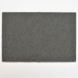 20x Vliesbogen grau Korn 1500 - 152x229mm