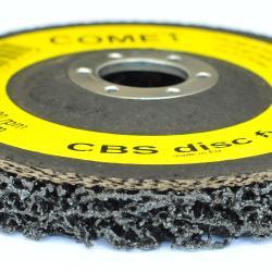 10x Reinigungsscheibe COMET CBS 125x22mm