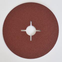 25x Fiberscheibe Korund Korn 36 - COMET 2A 125x22mm