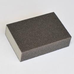 125x Schleifklotz Korund Korn 180 - 100x68.5x27mm - 4 seitig