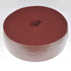 Vliesrolle Rot Korn 360 - 100mm x 10m